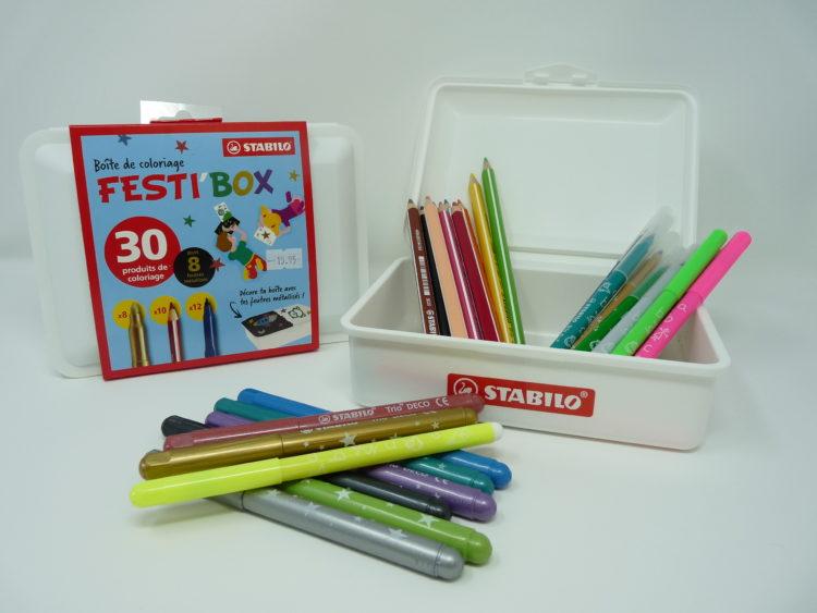 Boite De Coloriage Personnalisable Festi Box Stabilo Montbrison Click And Collect