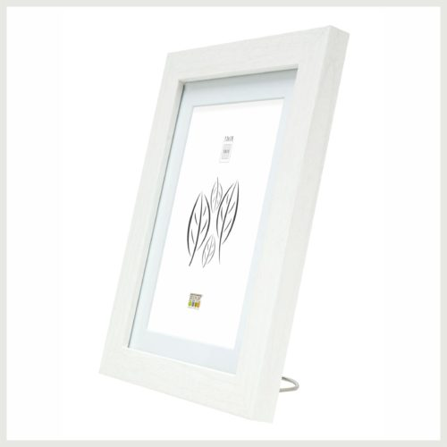 Cadre photo blanc - Gravo cles